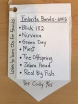 Cody's Favorite Bands in 2005